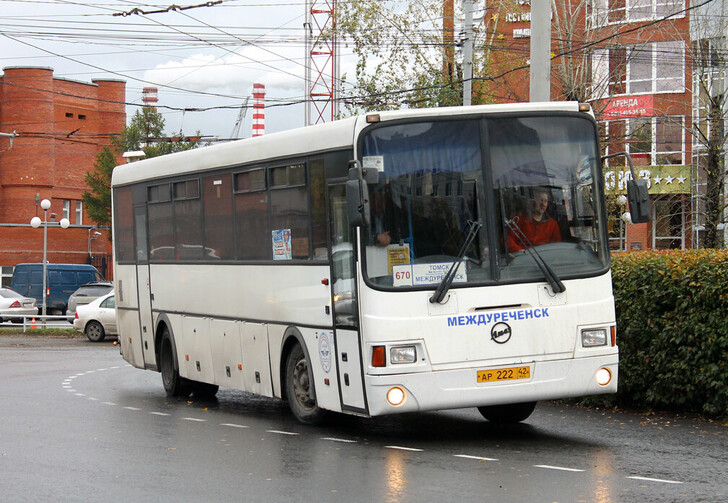 Автобус Новокузнецк — Томск