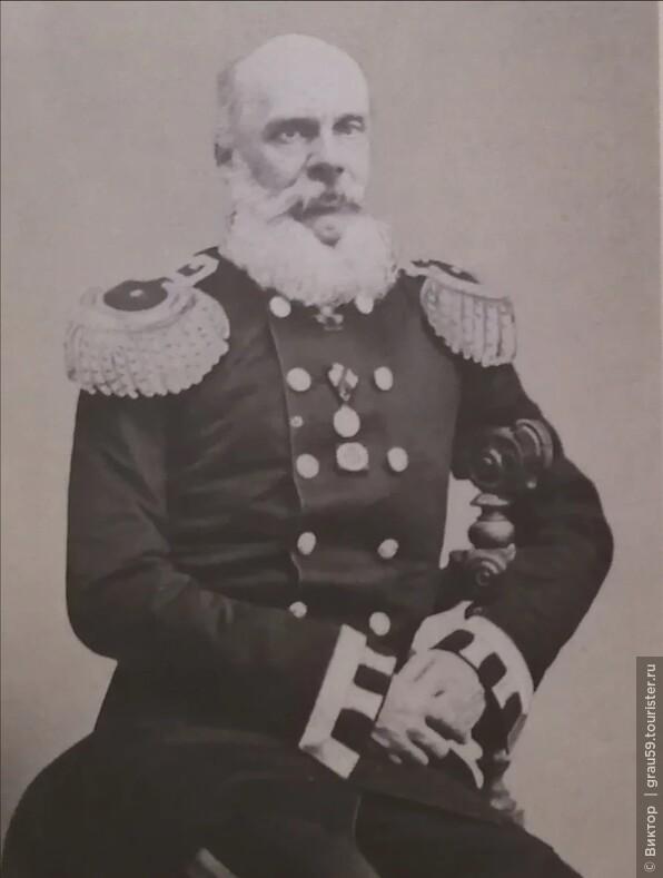 Андрей Евстафьевич Берс, отец С. А. Толстой. Конец 1850-х нач. 1860-х гг. (Из Интернета)