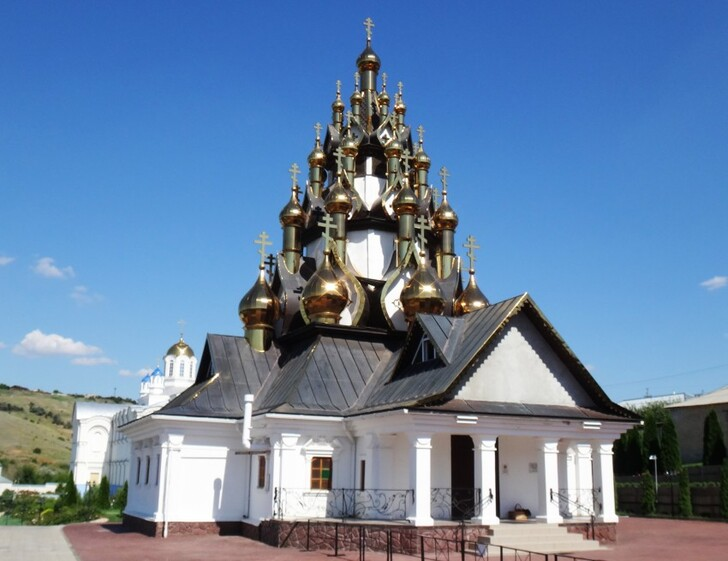 Церковь Спаса Преображения в Усть-Медведицком Спасо-Преображенском монастыре