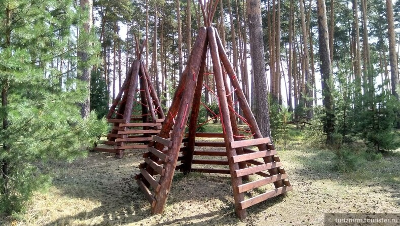 В Ичалковском районе Мордовии открылся экопарк