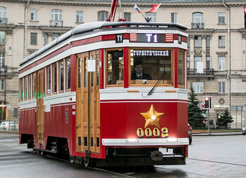 В Петербурге вновь запустят туристический трамвай