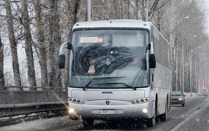 Автобус Новокузнецк — Бийск