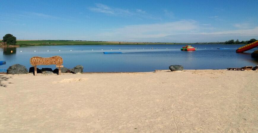 Пляж «Майорка» в Оренбурге