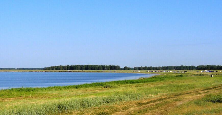 Озеро Горькое в Новоключах