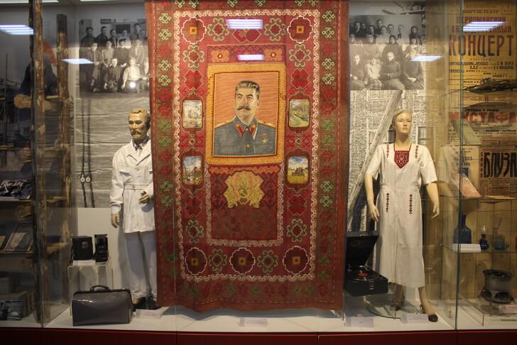Эскопзиция в Музее истории и археологии