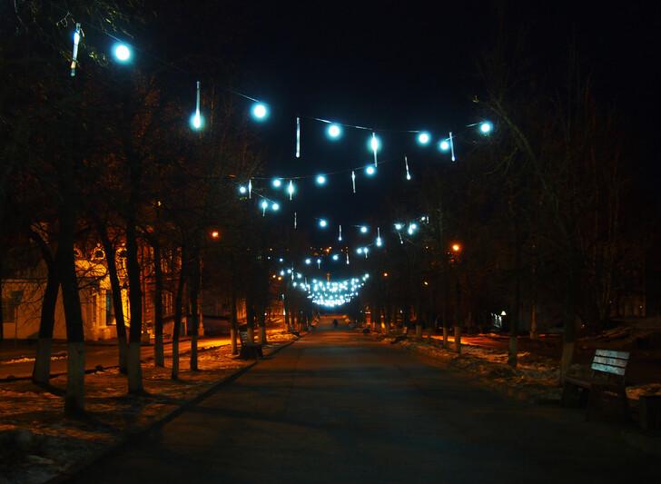 Новогодние улицы Костромы