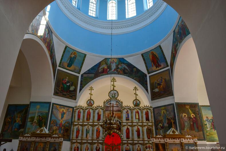 Туристические сокровища Ичалковского района Михайло-Архангелский храм в селе Ичалки