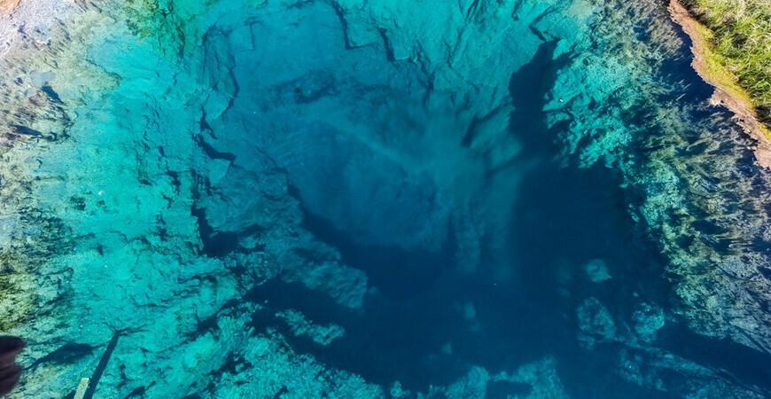 Голубое озеро в Самарской области