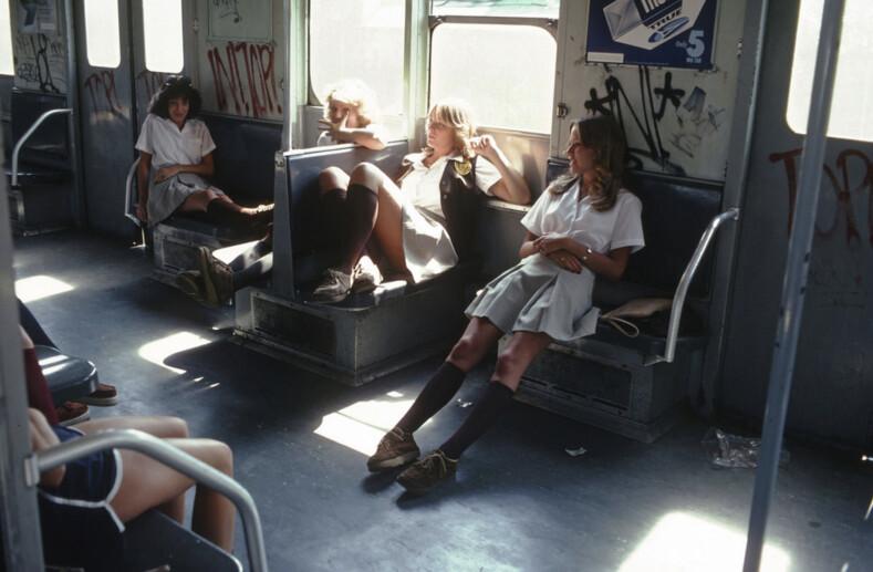 Ад на колесах ретро-фото, снятые в нью-йоркском метро