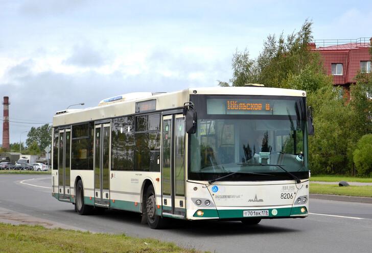 Автобус № 186