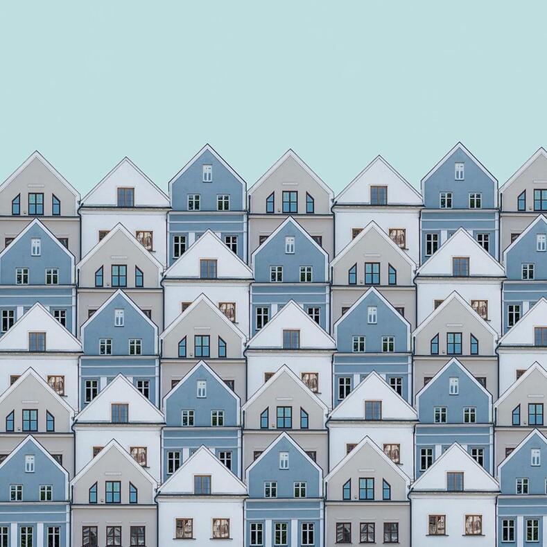 Как превратить серые многоэтажки в красивый арт: работы фотохудожника из Словакии, заставляющие посмотреть на город под другим углом