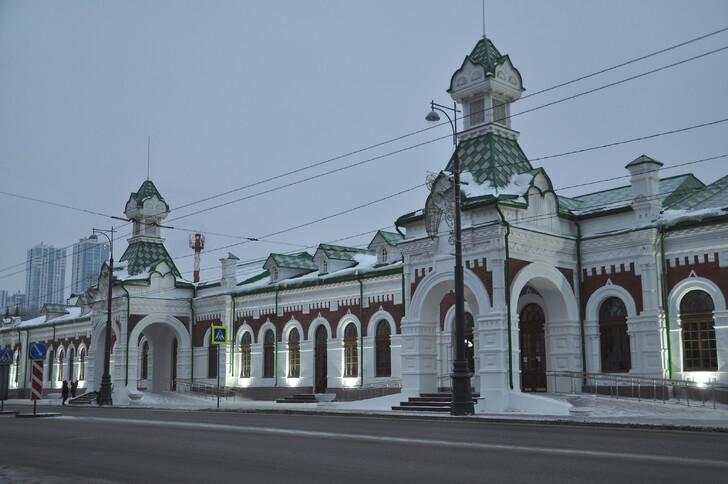 Железнодорожный вокзал Пермь - I
