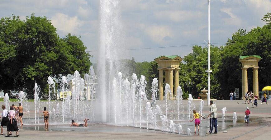 Поющий фонтан в Ессентуках