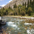 Ущелье Чычкан в Киргизии