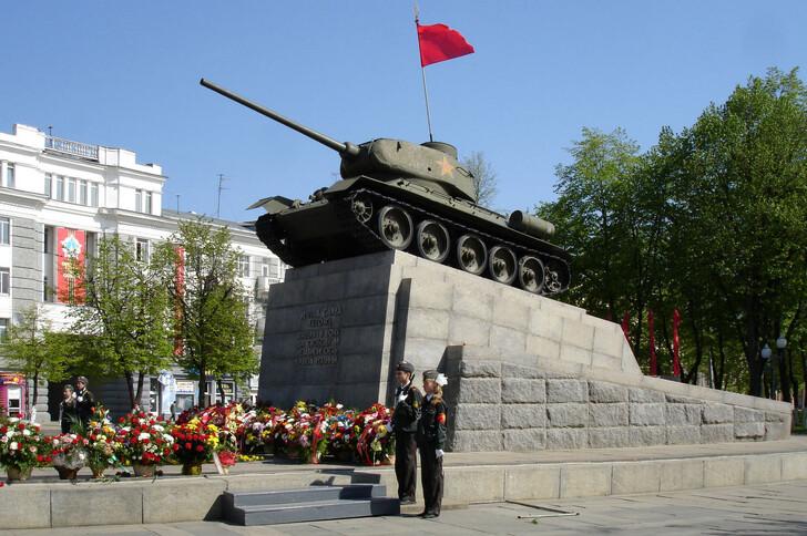 Памятник освободителям Орла