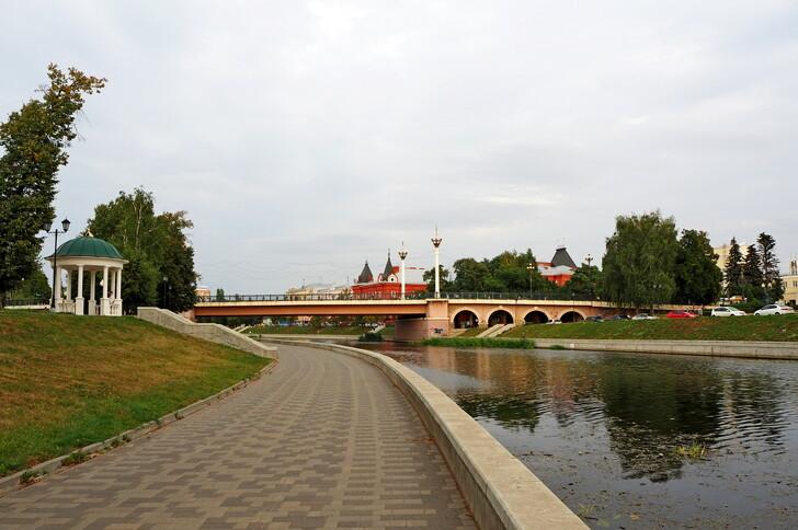 Александровский мост через Орлик