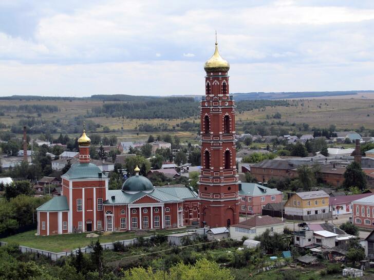 Церковь Георгия Победоносца в Болхове