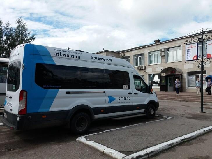 Автобус Санкт-Петербург — Вологда