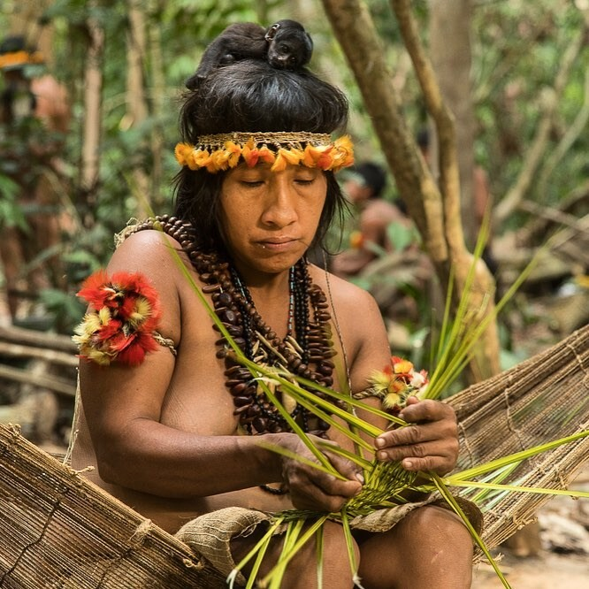 Ава - последнее кочевое племя Бразилии, вынужденное убегать от фермеров и пожаров