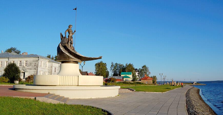 Онежская набережная<br/> в Петрозаводске