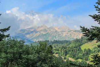 В горах Сочи спасли 10 заблудившихся туристов