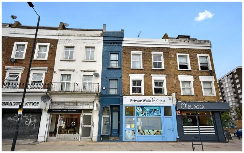 Выставлен на продажу самый узкий таунхаус в Лондоне фото дома изнутри, где между стенами всего 1,8 метра