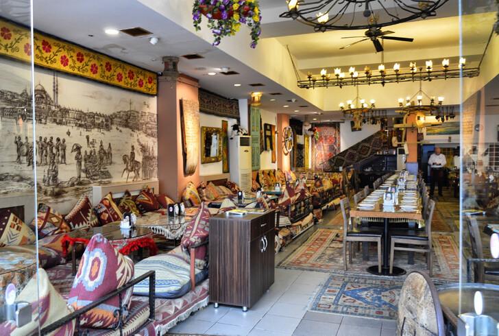 Ресторан турецкой кухни в Стамбуле