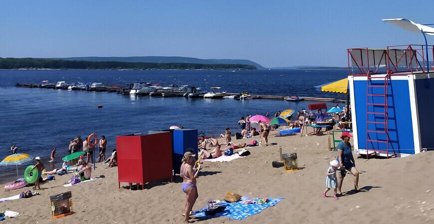 Пляж на 9-й просеке (Барбошина поляна)
