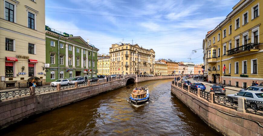 Набережная Мойки <br/> в Санкт-Петербурге