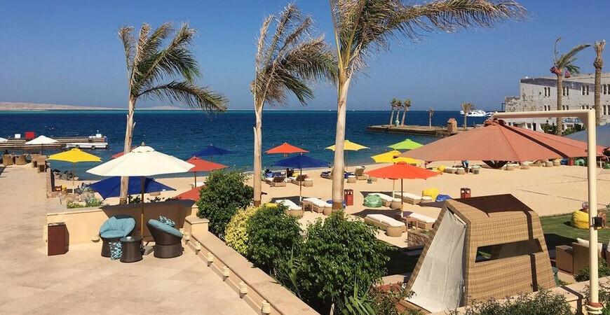 Пляж Махмея (Mahmya Beach) <br/> в Хургаде