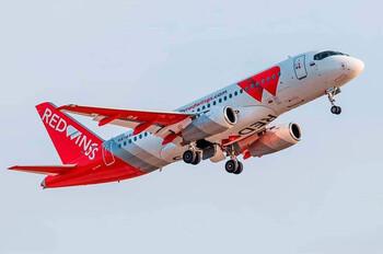 Red Wings в октябре откроет новые рейсы по РФ из Екатеринбурга