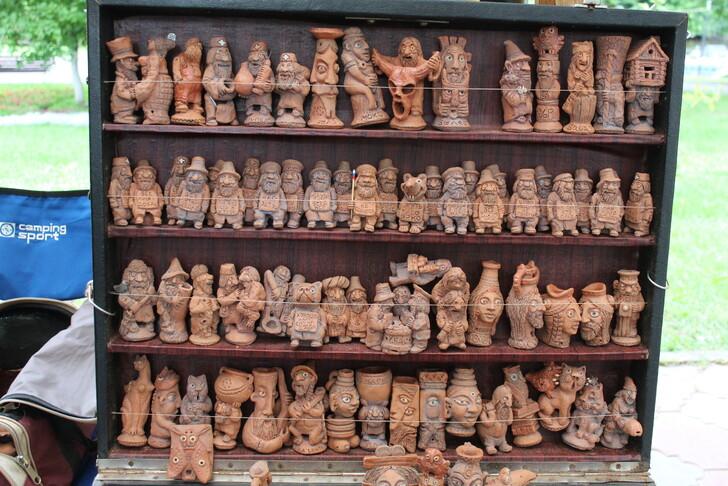 Глиняные сувениры