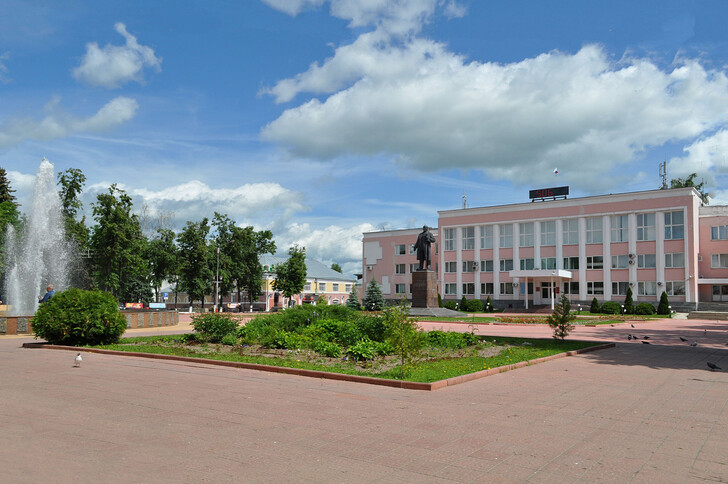 Площадь 1100-летия Мурома