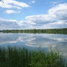 Озеро Песчаное в Самаре на о. Поджабный