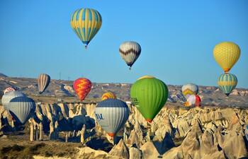 В Каппадокии упали цены на полёты на воздушных шарах