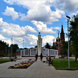 Мемориальный парк «Памяти героев-авиаторов» (Энгельс, Лётный городок)