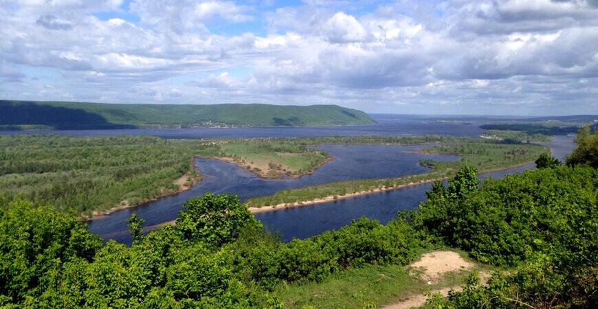 Остров Зелененький в Самаре