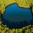 Серебряное озеро в Псковской области