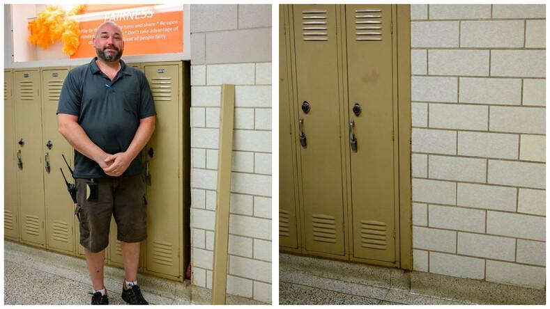 Капсула времени охранник нашел в школе сумку, пролежавшую у стены более 60 лет (владелица умерла, но родные разрешили опубликовать фото с содержимым вещи)