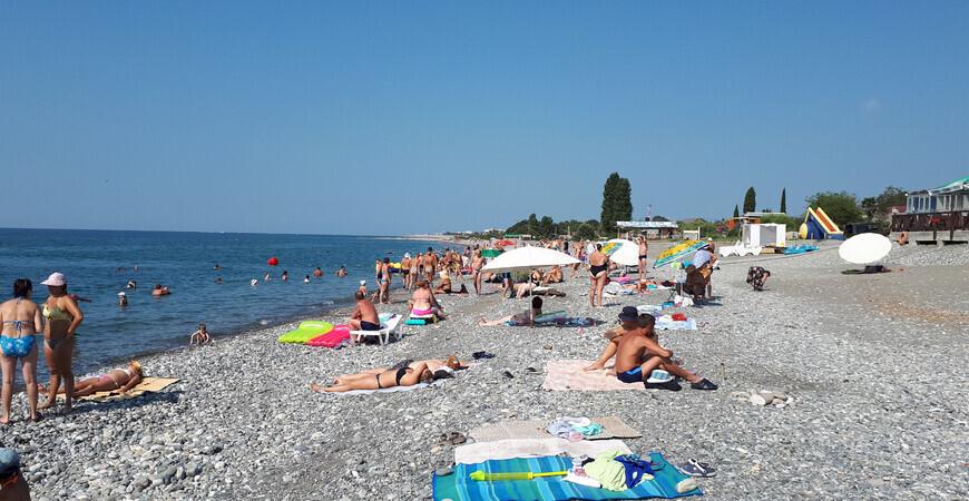 Пляж Гечрипш (Гячрыпш)