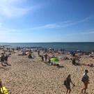 Пляж Малиновка в Калининградской области