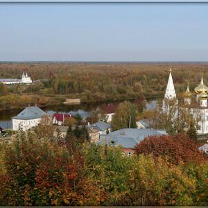 Золотая осень в Гороховце