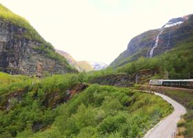 По Норвегии на авто: Фломская железная дорога