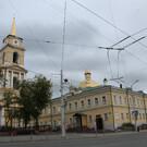 Соборная площадь Перми и сквер Мамина-Сибиряка