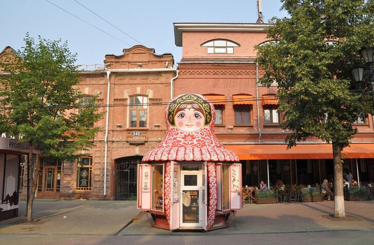 Сувенирная лавка в Челябинске