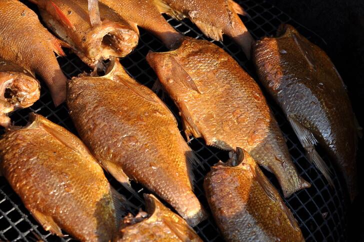 Копченая рыба из озер Челябинской области