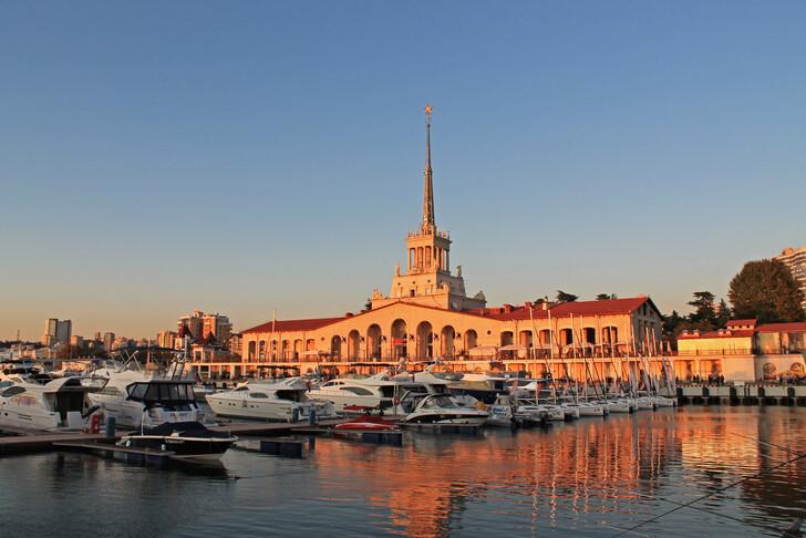 Морской вокзал Сочи