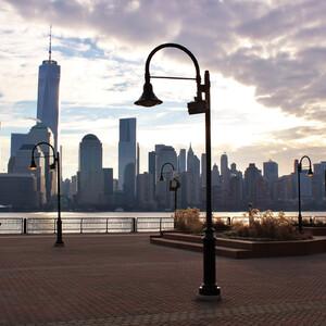 Зимний серый Нью-Йорк