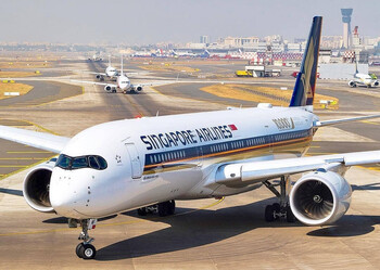 Singapore Airlines превратила свой лайнер в ресторан