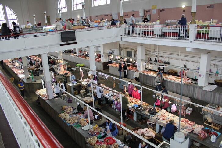 Центральный рынок Кисловодска